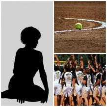 softball-collage